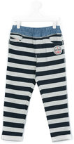 Diesel striped tracksuit bottoms - kids - Cotton/Polyester - 2 yrs