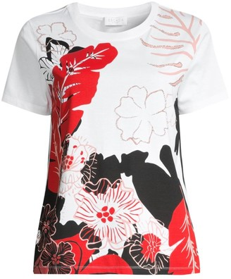 Escada Sport Floral Graphic T-Shirt