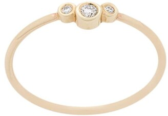 Zoë Chicco 14kt Yellow Gold Diamond Band Ring