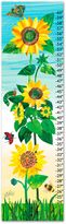Eric Carle Sunflower Growth Chart Canvas Wall Art