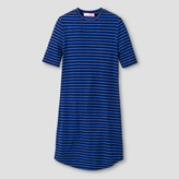Say What Girls' Kylie Ribbed Dress - Blue/Black