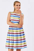 Emily And Fin NEW Womens Knee Length Dresses Abigail Dress Stripe