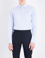 Eton Contemporary-fit patterned cotton shirt