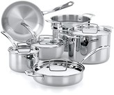 Bloomingdale's The French Chefs 10-Piece 5-Ply Stainless Steel Cookware Set