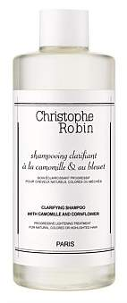 Christophe Robin Clarifying Shampoo With Camomile And Cornflower 250Ml