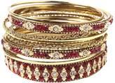 Amrita Singh Women's Keya Bangle Bracelets (Set of 5)