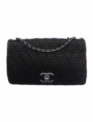 Chanel Ultra Stitch Flap Bag Black