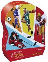 "Crocodile Creek World of Sports 72 piece Junior Jigsaw Puzzle 14"" x 19"""