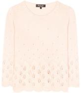 Loro Piana Leaf cashmere sweater