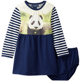 Toobydoo Photoreal Panda Dress 2-Piece Set (Baby Girls & Toddler)