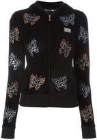 Philipp Plein embellished butterfly hoodie