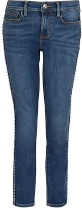 Current/Elliott The Caballo Stiletto studded jeans