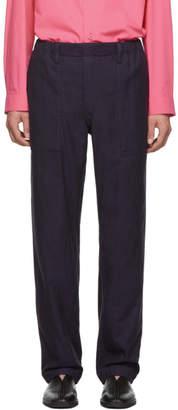 Issey Miyake Reversible Purple DFC Lounge Pants