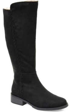 Journee Collection Women's Comfort Blakely Extra Wide Calf Boot Women's Shoes