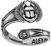 Alex and Ani Spoon Ring Scarab