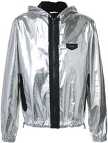Givenchy metallic jacket - men - Cotton/Polyimide - 46