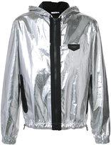 Givenchy metallic jacket - men - Cotton/Polyimide - 48