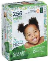 Seventh Generation Free & Clear Baby Wipes Thicker and Softer, 256 ct. pack