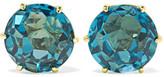 Ippolita Rock Candy 18-karat Gold Topaz Earrings - one size
