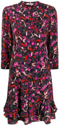 Dorothee Schumacher Abstract Print Shirt Dress