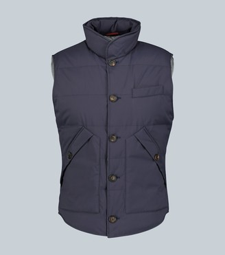 Brunello Cucinelli Quilted technical gilet
