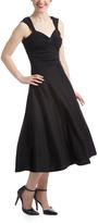 Bettie Page Black Roman Holiday Dress
