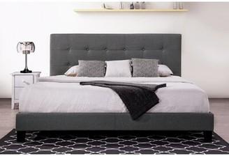 Latitude Run King Solid Wood Low Profile Platform Bed