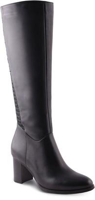 AquaDiva Tessa Water Resistant Knee High Boot