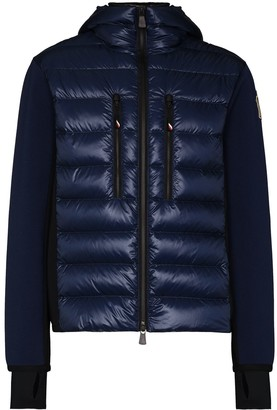 MONCLER GRENOBLE Zip-Up Quilted Ski Jacket