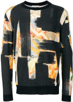 Moschino Brush stroke sweatshirt