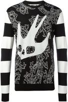 McQ by Alexander McQueen Paisley Swall sweatshirt - men - Cotton/Wool - S