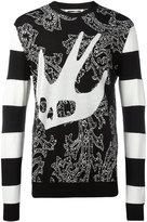 McQ by Alexander McQueen Paisley Swall sweatshirt - men - Wool/Cotton - S