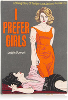 Olympia Le-Tan I Prefer Girls Book Clutch