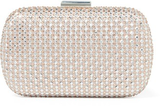 Forever New Sky Jewelled Round Clutch - Blush - 00