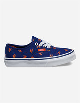 Vans x MLB Mets Authentic Boys Shoes
