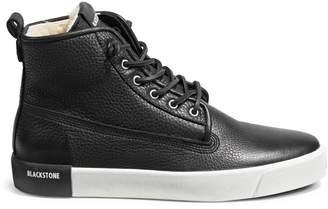 Blackstone Shearling-Lined Leather Sneaker Boots