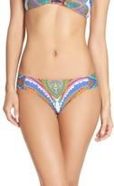 Trina Turk Women's Side Shirred Bikini Bottoms