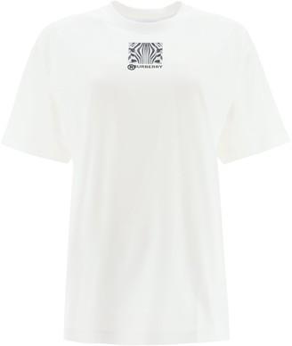 Burberry Oversized Crewneck T-Shirt