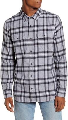 Vans Westminster Classic Fit Plaid Button-Up Flannel Shirt