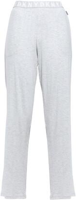 DKNY Melange Stretch-jersey Pajama Pants