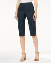 Style&Co. Style & Co Petite Pull-On Capri Pants, Only at Macy's