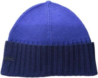 Lacoste Women's Dip Dyed Wool Jersey Beanie