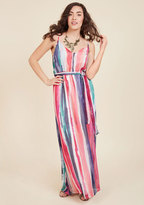 BB Dakota Painted Pending Maxi Dress in M