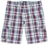 Bugatti Plaid Cotton Shorts