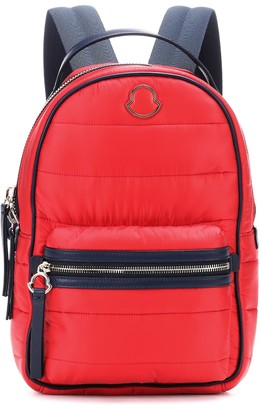 Moncler Georgette leather-trimmed backpack