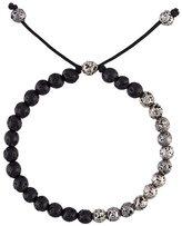 M. Cohen lava stone bead bracelet