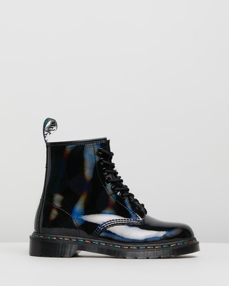 Dr. Martens Womens 1460 Rainbow Boots