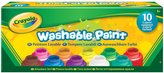 Crayola 10ct 2oz Washable Kids Paint
