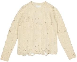 Zadig & Voltaire Ecru Wool Knitwear for Women