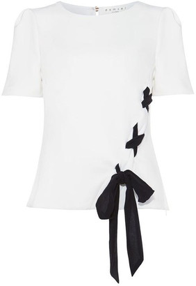 Damsel in a Dress Ciana Bow Detail Blouse